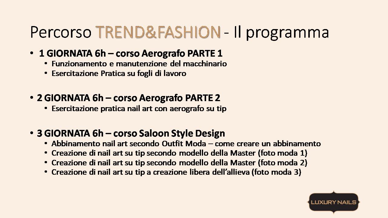 programma tred e fashion